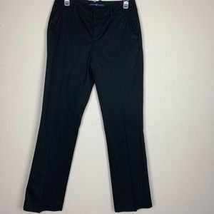 Gap- Pinstripe Black Pants size 1